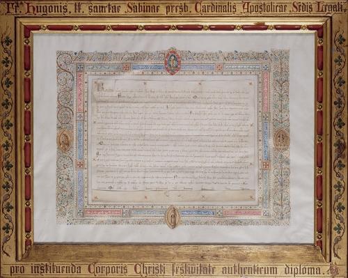 VE PN 106 Diplôme_d'institution_de_la_Fête-dieu_(Musée_du_Grand_Curtius,_Liège).jpg