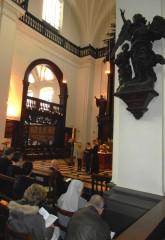 trois cents personnes ont fêté le chant grégorien à liège