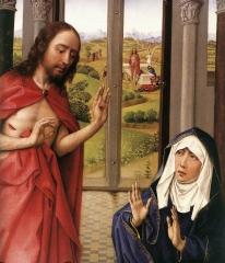 VE PN n° 102 apparition Jésus à Marie Madeleine Van der Weyden.jpg
