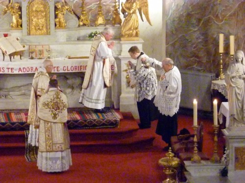 epiphanie 2011 à l'église du saint sacrement à liège